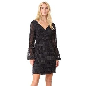 Club Monaco Jowdie Dress - Black Polka Dot - 0